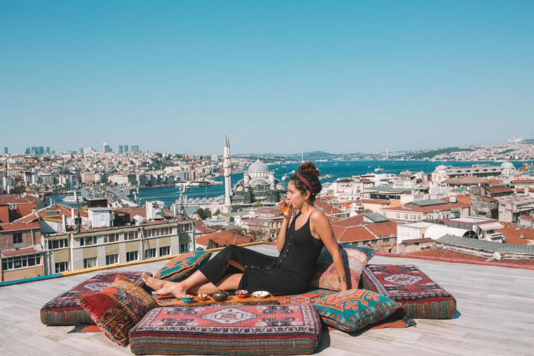 rooftops in istanbul