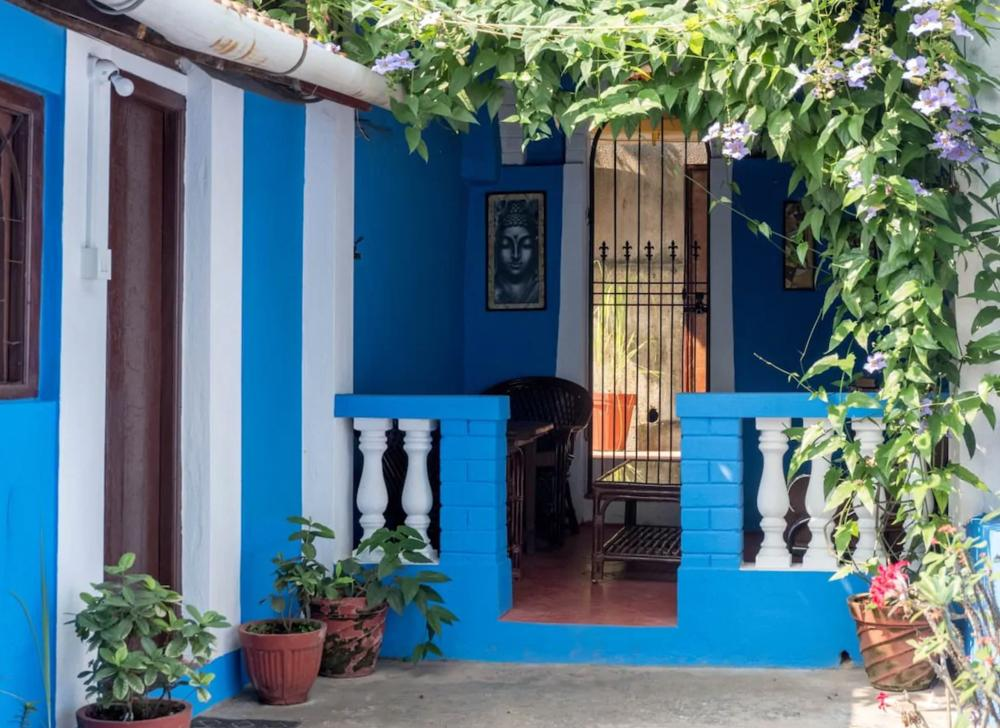 cute cottage in downtown panjim