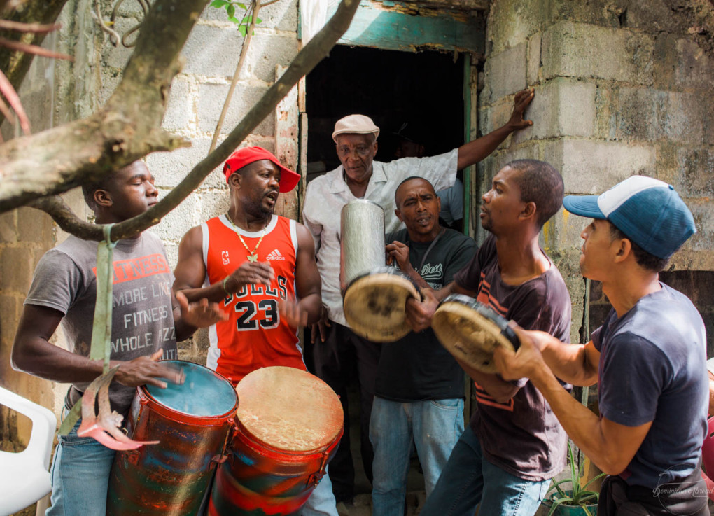Experience some Afro-Dominican history and culture by listening to the sacred music of the Fiesta de Palo: in Villa Mella.