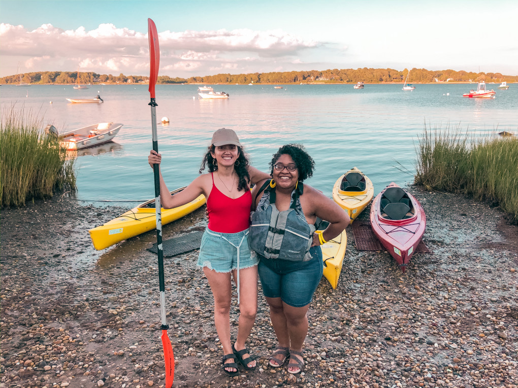 Day trip from NYC to Shelter Island for kayaking and delicious seafood